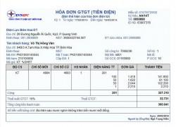 In ấn hóa đơn giá rẻ – Hà Nội
